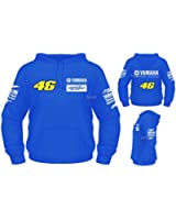 Yamaha Factory Racing Rossi Hoodie - (S - 2XL) M1 R1 R6 YZF Yoshimura