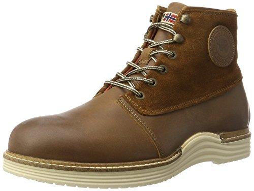 Napapijri Footwear Herren Edmund Klassische Stiefel, Braun (Cognac), 44 EU