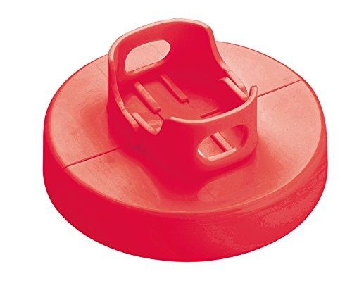 Tescoma 420585 Stampo per Hamburger, Rosso, 18.5 X 12 X 4.8 Cm