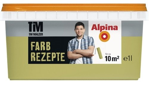ALPINA Farbe Tim Mälzer Farbrezepte 1 L, Olivenhain