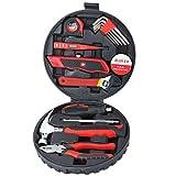 ZXZ-GO Kits de Herramientas de 15 Piezas, Juego de Herramientas - Herramienta de Destornillador para Herramientas de reparación para el hogar de DIY Mantenimiento de reparación de viviendas