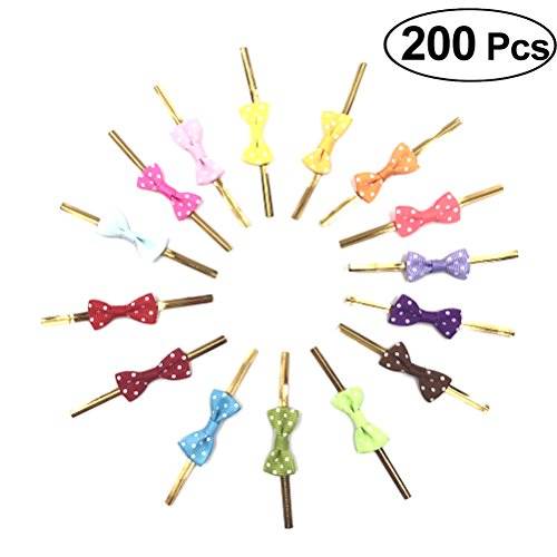 ife Twist Kabelbinder für Treat Taschen Lutscher und Cake Pops Party Favor Taschen Dekorationen (sortiert Farbe) ()