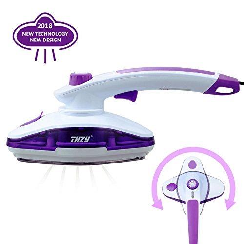 LOFTWELL Plancha Ropa Vapor, THZY mini cepillo de vapor de mano para prendas delicadas y tejidos gruesos,calentamiento rápido, plancha de vapor portátil para el viaje y hogar, púrpura