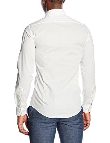 Venti - 1470, Camicia da uomo Bianco (Weiß 002)