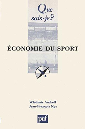 Economie du sport par Wladimir Andreff, Jean-François Nys