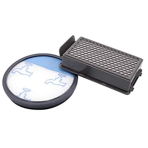 vhbw Set di 2 filtri per Rowenta RO3718EA RO3724EA RO3731EA RO3753EA RO3786EA RO3798EA HEPA Filtro aria di scarico Filtro salvamotore