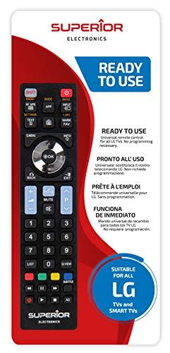 Telecomando di ricambio superior per tutti i televisori e smart tv lg