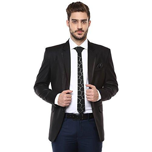 matte-black-pebble-convulsion-tech-cravatta