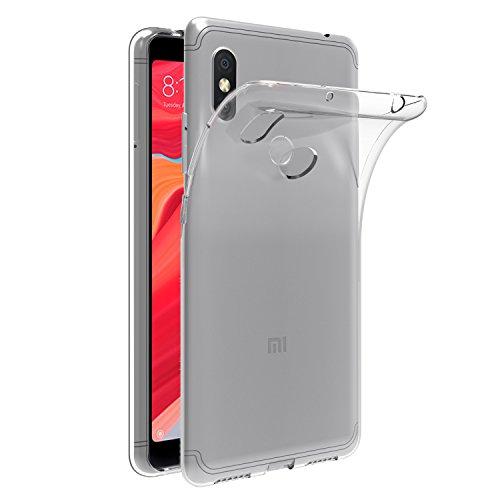 ivoler Hülle für Xiaomi Redmi S2, Premium Transparent Tasche Schutzhülle Weiche TPU Silikon Gel Schutzhülle Case Cover für Xiaomi Redmi S2