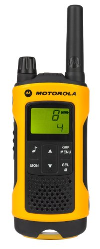 Motorola-Talker-T80-Extreme-PMR446-2-Way-Walkie-Talkie-Radio-Twin-Pack-Yellow-Black