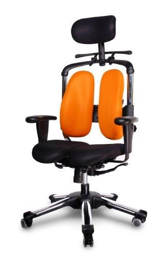HARASTUHL® Druckentlastung der Bandscheiben und Verbesserte Gesäß Durchblutung. Modell: Nie (Orange)