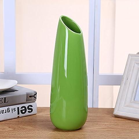 Maivas Décoration Vase en céramique simple et moderne Arrangement de
