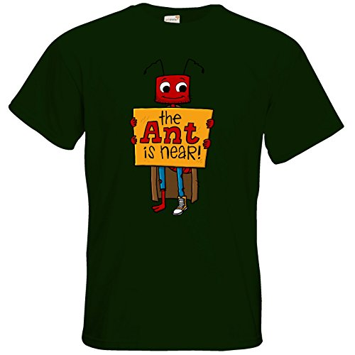getshirts - Tom Wendels Loot Box - T-Shirt - AntMe! The End Is Near Bottle Green