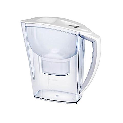 Wasserfilter mit Aktivkohle, für 3Liter reines Wasser, Alkaline Brita-Stil, elektronischer