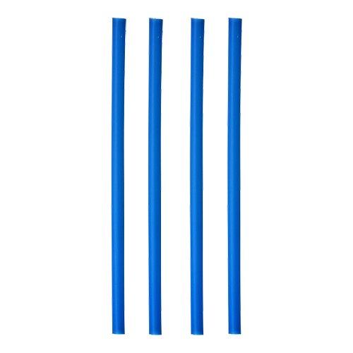 135 Shake-Halme, Trinkhalme, Jumbo Trinkhalme, Cocktailhalme, blau , Ø 8 mm, 25 cm, 12638