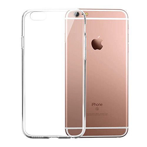 "Coque iPhone 6s Plus/ iPhone 6 Plus, Bestwe Coque de protection en silicone et TPU pour iPhone 6s Plus 5.5"" (transparent, iPhone 6s Plus)"