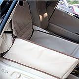 HONGLI Car Pet Mat Car Dog Cage Co-driver Dog Safety Seat Pet Car Bag Pet Car Seat Bag (Color : GRAY)