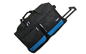 "All Bags 40"" LARGE WHEELED HOLDALL SUITCASE LUGGAGE TRAVEL DUFFLE BAG 240Litres"