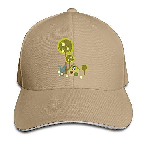 ferfgrg Adjustable Hat Hiptop Baseball Cap Trucker Hats Rabbit Classic Adjustable Cap HI264 -