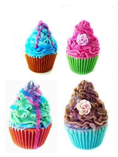 Pirottini per sapone, decorazione per cupcake, sapone profumato, regalo per gli ospiti, sapone profumato, sapone decorativo fatto a mano, regalo per gli ospiti vegano baby shower idea regalo