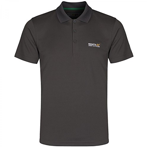 Regatta Maverik III Herren Polo Shirt Pergament