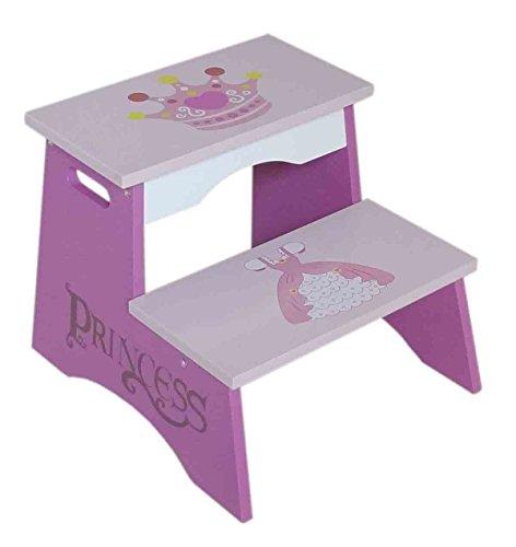 Kiddi Style Taburete Infantil Princesas Madera par ninos