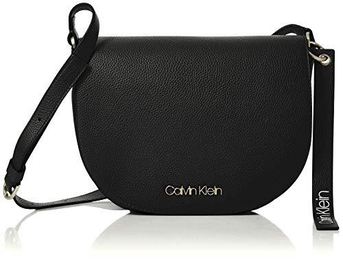 Calvin Klein Jeans Neat Medium Saddle Bag, Sacs...