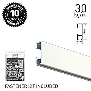 Artiteq Click Rail White 200cm KIT