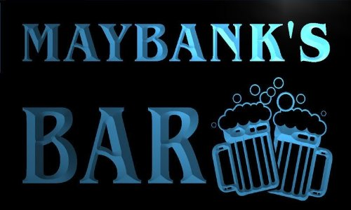 w059538-b-maybank-name-home-bar-pub-beer-mugs-cheers-neon-light-sign