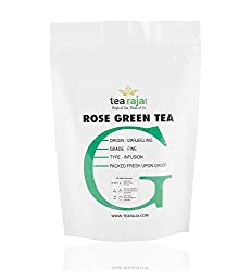 TeaRaja Rose Green Tea(100 Gm)