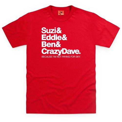Sniff Petrol BBCF1 T-Shirt, Herren Rot
