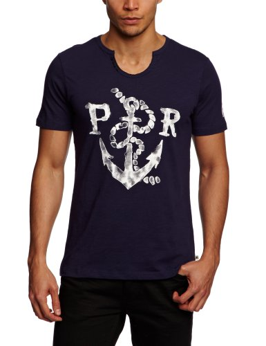 Protest Clothing Herren T-Shirts Blau - Midnight