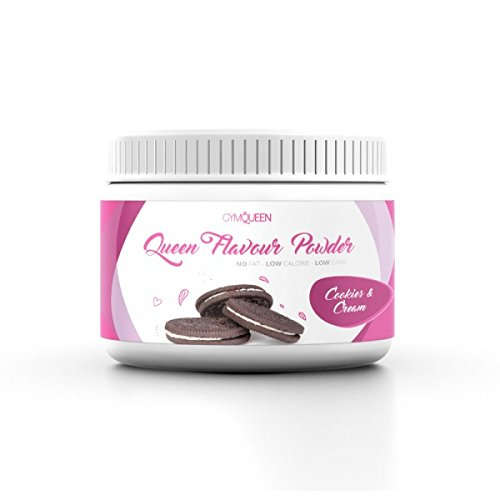 Gym Queen Flavour Powder (200g) Cookies & Cream