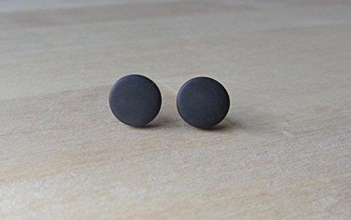 round-8-mm-black-matte-studs-pair-of-matte-earrings-mens-stud-earrings-flat-earrings-unisex-studs-go