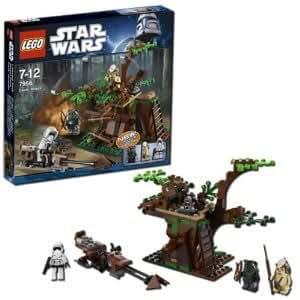 Super LEGO Star Wars Ewok Attack 7956 With Log Trap, Secret Compartment And Retractable Ladder Jouets, Jeux, Enfant, Peu, Nourrisson