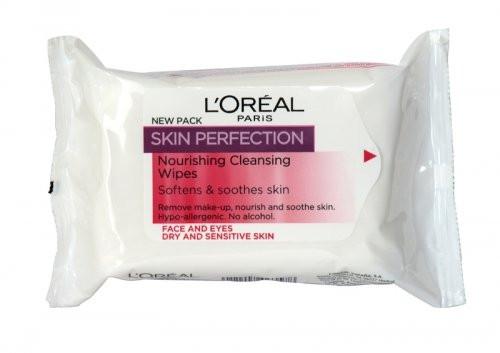3x Loreal Haut Perfektion Pflegende Reinigung Tücher DRY & Sensitive