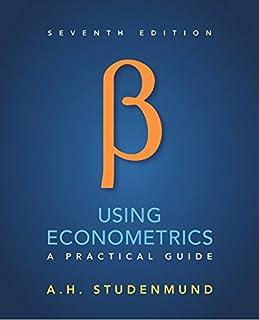 Using Econometrics: A Practical Guide (013418274X) | Amazon price tracker / tracking, Amazon price history charts, Amazon price watches, Amazon price drop alerts