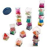 Partituki Pack de 25 Jeux: 24 Casse-têtes Cubes à Billes pour Enfants et Adultes et...