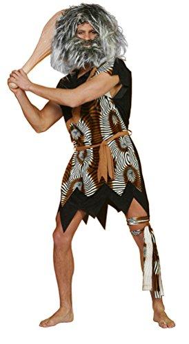 Karneval-Klamotten' Kostüm Neandertaler Velboa Herr Kostüm Karneval Höhlenmensch Herrenkostüm Größe ()