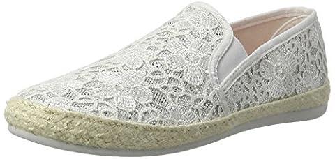 Desigual Damen Taormina White Lace 1 Sneaker, Weiß (Blanco), 38 EU