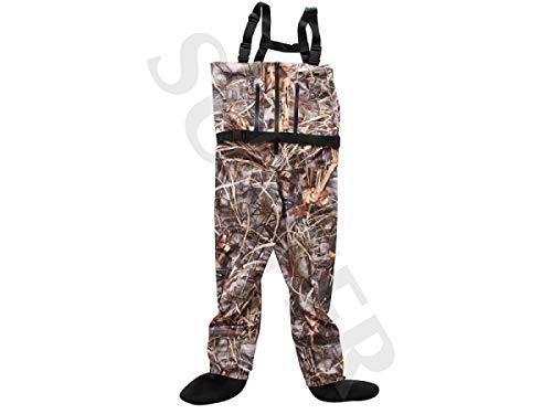 SUTTER Wathose/Anglerhose, wasserdicht und atmungsaktiv, Camouflage - Größe: XXL