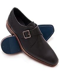 7b5627ac82ad Zerimar Zapato de Piel para Hombre Zapato Elegante para Hombre