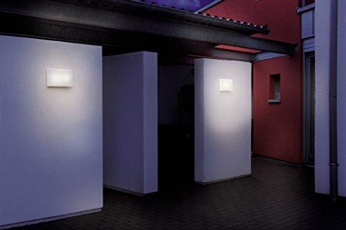Plafoniera Da Esterno Con Crepuscolare : Steinel ln led lampada da esterno con sensore crepuscolare