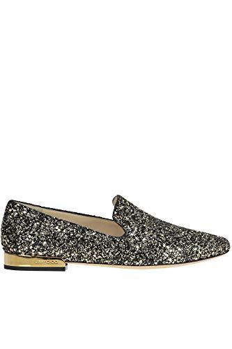 Jimmy Choo Jaida Glittered Loafers Woman Gold 39 IT