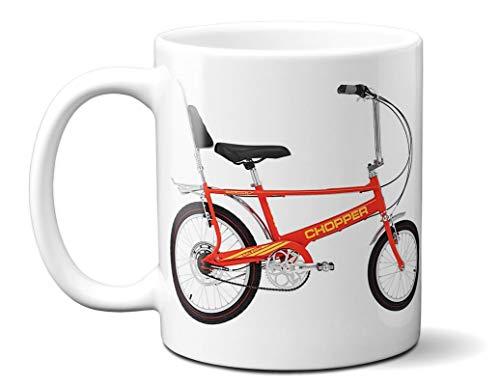 Raleigh Red Chopper Printed 11oz Ceramic Mug