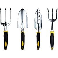 txian Set Giardinaggio Set di utensili a mano in lega di alluminio Giardino Fork Cazzuola