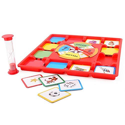 pittospwer Multi-Player-Plattenspieler-Brett-Karten-Speicher-Wettbewerbsspiel Educational Kids Toy