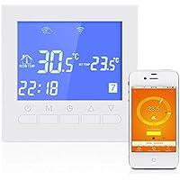 Termostato programable del wifi Termóstato eléctrico de la calefacción del piso del agua o de la