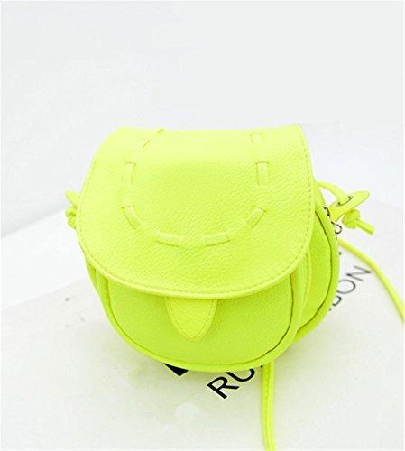 STINNA - Borsa a tracolla donna Fluorescence Green