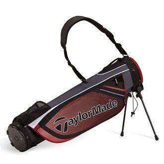 TaylorMade 2016 Quiver Pencil Bag Mens Golf Carry Bag-2 Way Top Black/Red